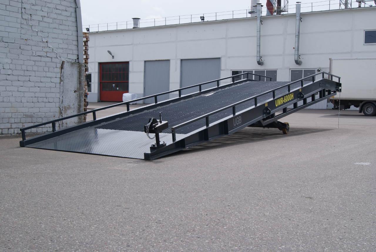 UGB UMR-6000 Mobile 6t lastausramppi